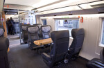 First Class Train Car