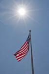 Flag in Sunshine