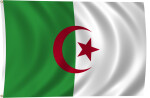 Flag of Algeria, 2011
