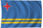 Flag of Aruba, 2011