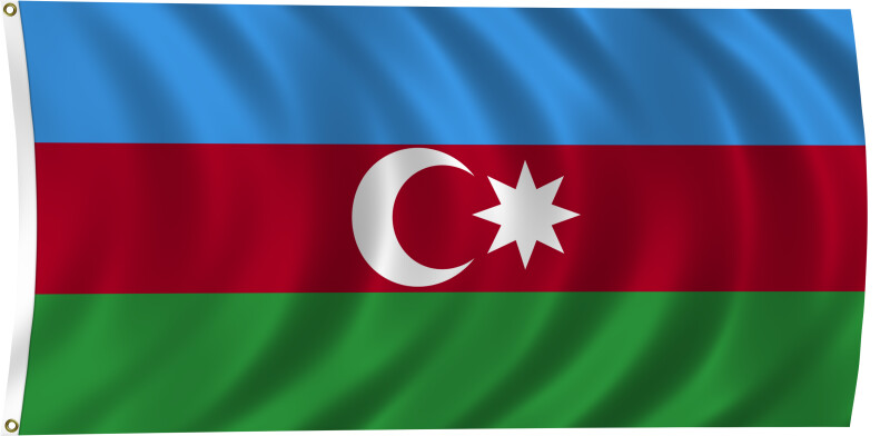 Flag of Azerbaijan, 2011