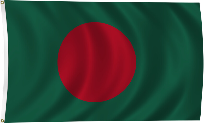 Flag of Bangladesh, 2011