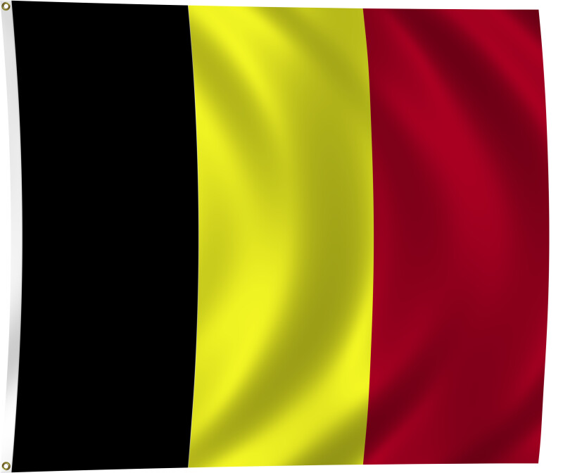 Flag of Belgium, 1831-Present