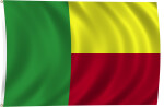 Flag of Benin, 2011