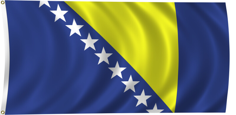 Flag of Bosnia and Herzegovina, 2011