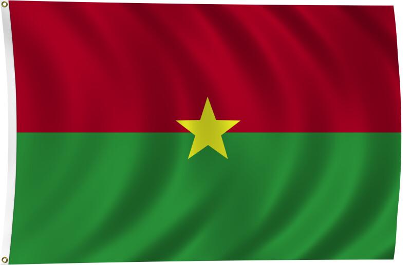 Flag of Burkina Faso, 2011