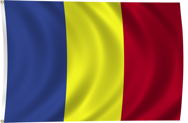 Flag of Chad, 2011