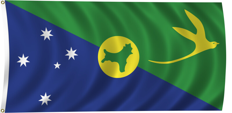 Christmas Island Flag.Flag Of Christmas Island 2011 Clippix Etc Educational