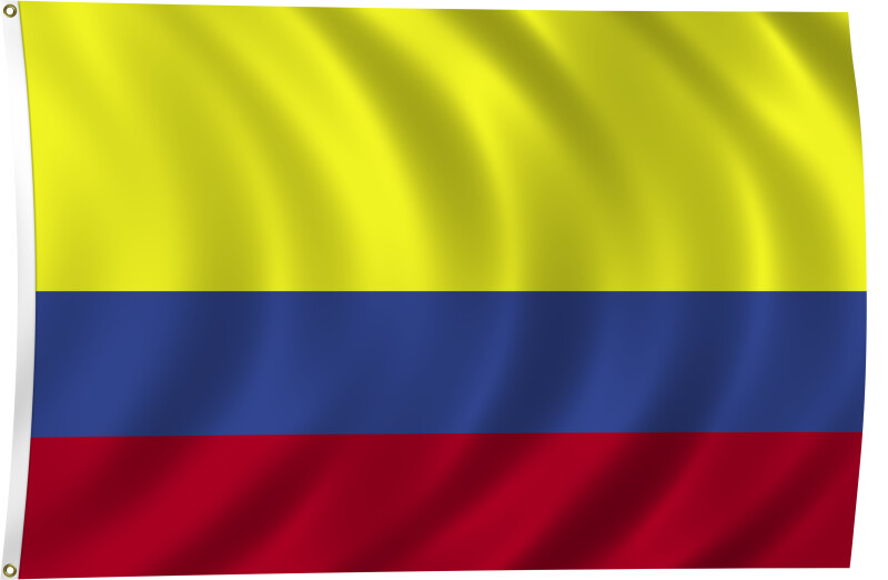 Flag of Colombia, 1861-Present