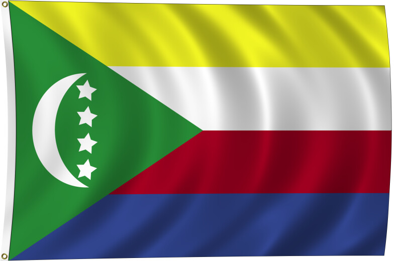 Flag of Comoros, 2011