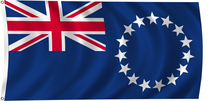 Flag of Cook Islands, 2011