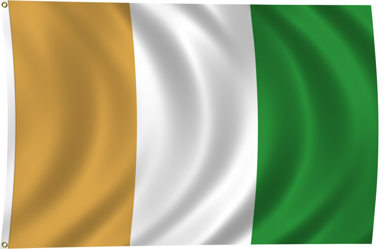 Flag of Cote d'Ivoire, 2011
