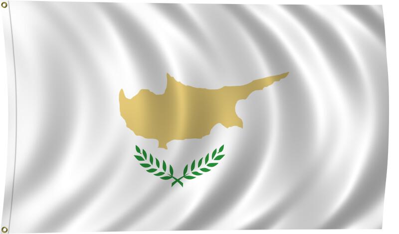 Flag of Cyprus, 1960-2006