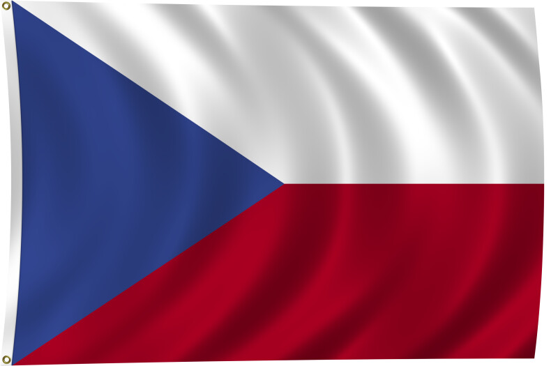 Flag of Czech Republic, 1993-Present