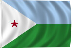 Flag of Djibouti, 2011