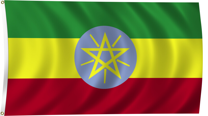 Flag of Ethiopia, 2011