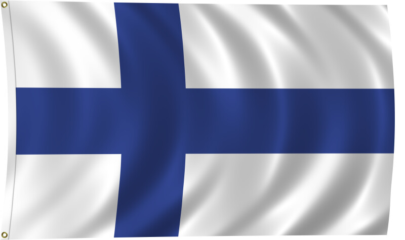 Flag of Finland, 2011