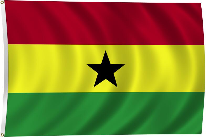 Flag of Ghana, 2011