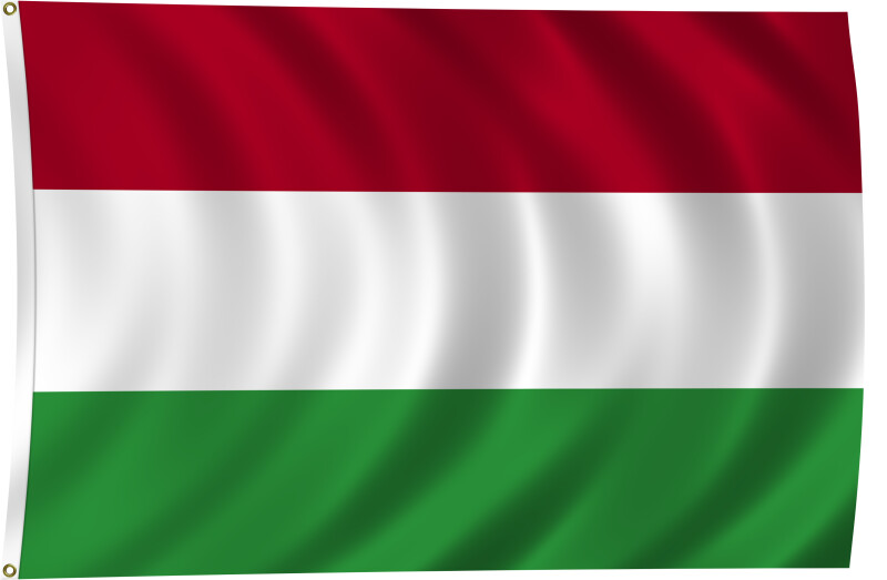 Flag of Hungary, 1957-Present