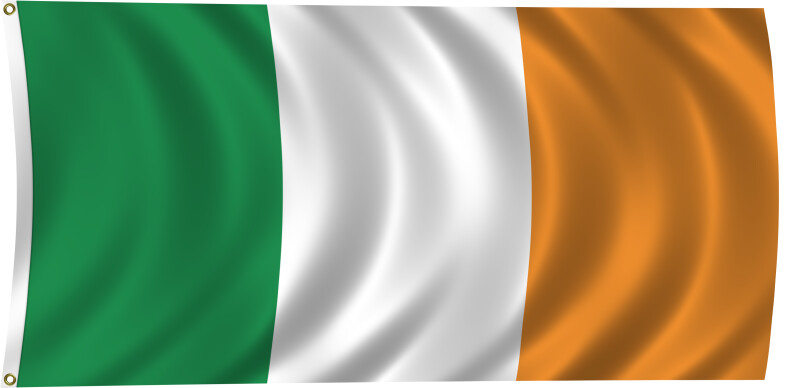 Flag of Ireland, 1919-Present