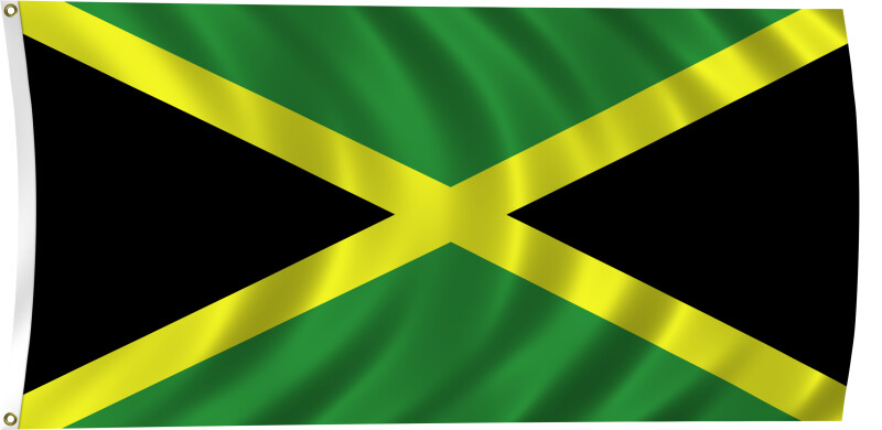 Flag of Jamaica, 1962-Present