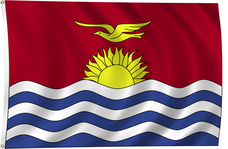 Flag of Kiribati, 2011