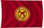 Flag of Kyrgyzstan, 2011