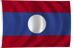 Flag of Laos, 2011