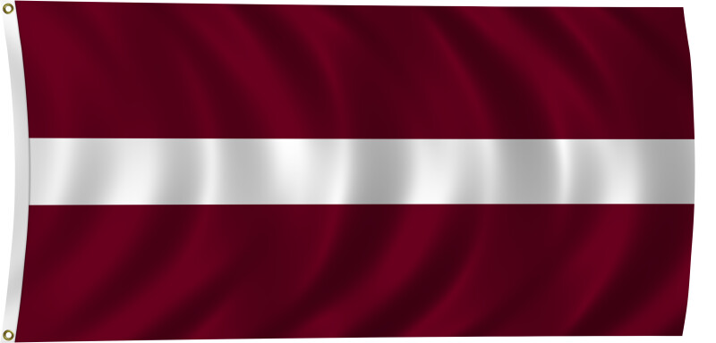 Flag of Latvia, 2011