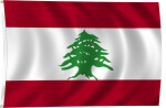 Flag of Lebanon, 2011