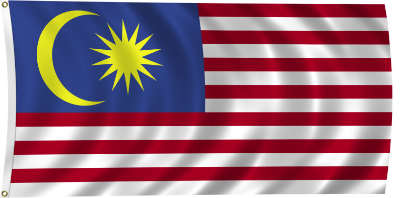 Flag of Malaysia, 2011