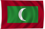 Flag of Maldives, 2011