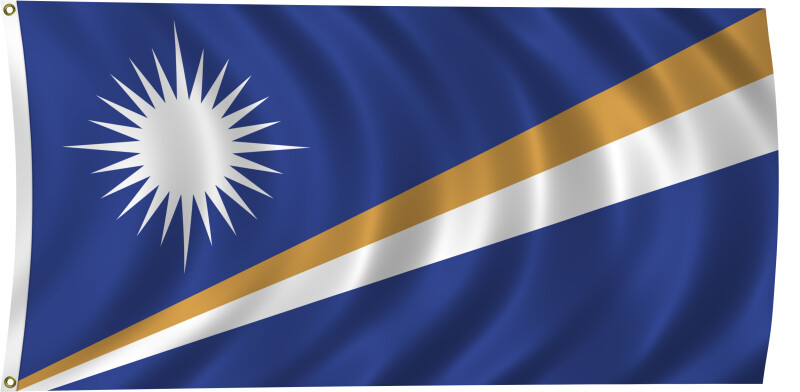 Flag of Marshall Islands, 2011