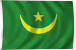 Flag of Mauritania, 2011