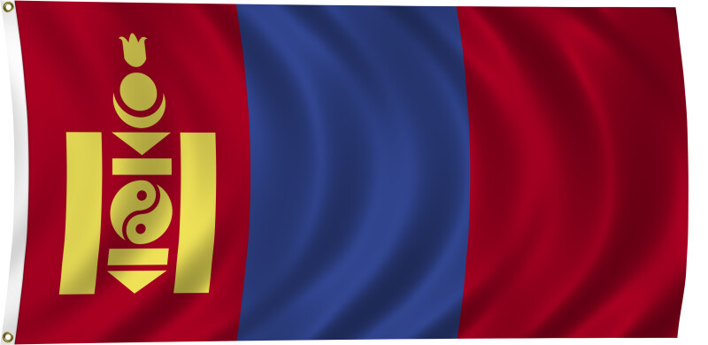 Flag of Mongolia, 2011