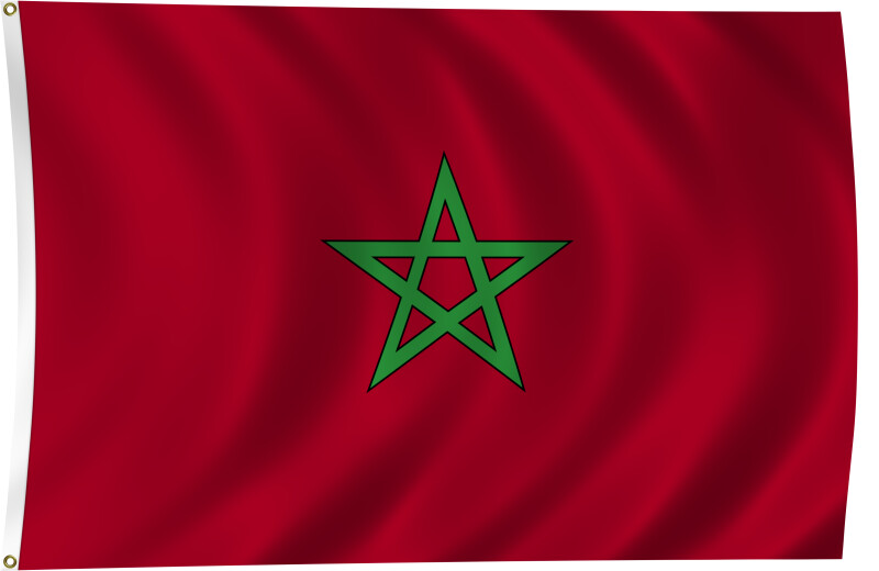 Flag of Morocco, 2011