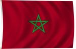 Flag of Morocco, 2011