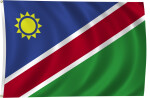 Flag of Namibia, 1990-Present
