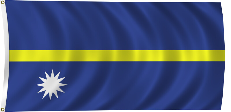 Flag of Nauru, 2011