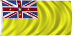 Flag of Niue, 2011