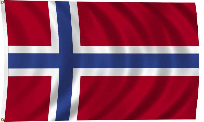Flag of Norway, 1821-Present