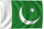 Flag of Pakistan, 1947-Present