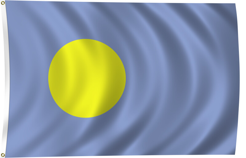 Flag of Palau, 2011