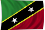 Flag of Saint Kitts and Nevis, 2011