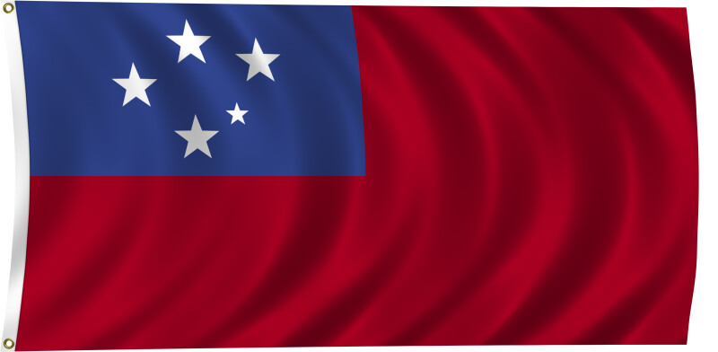 Flag of Samoa, 2011