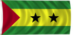 Flag of Sao Tome and Principe, 2011
