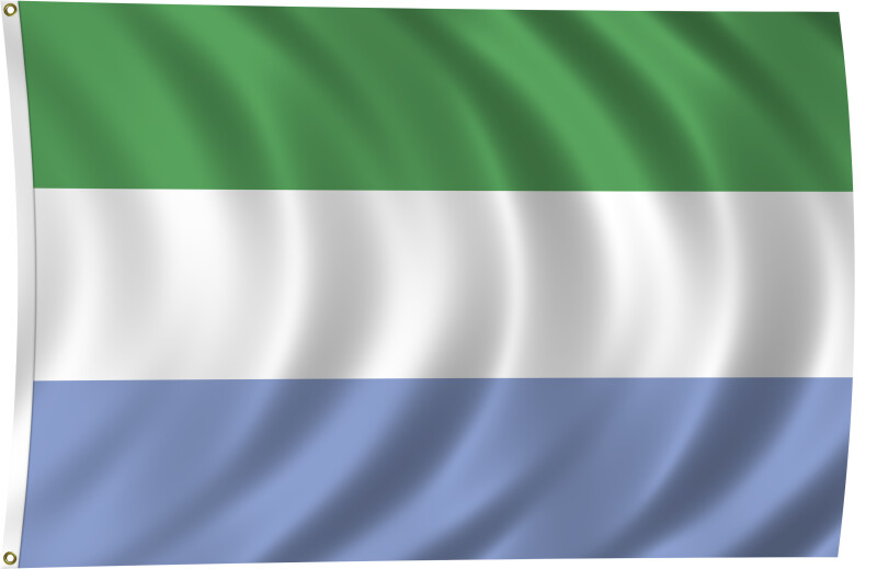 Flag of Sierra Leone, 2011