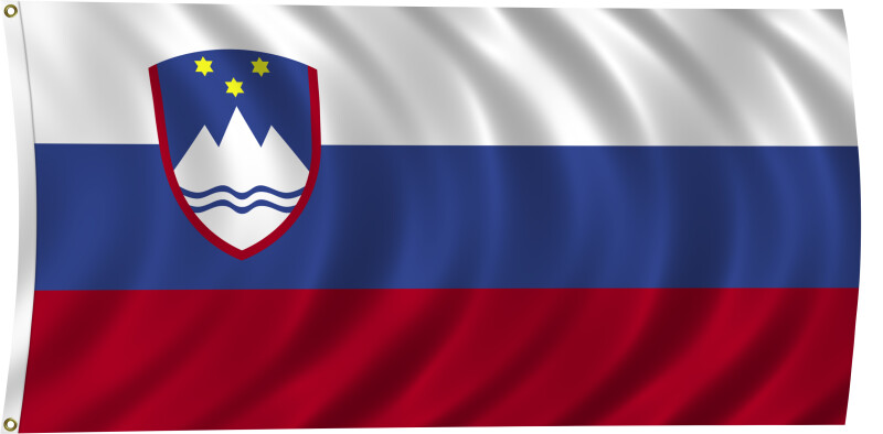 Flag of Slovenia, 2011