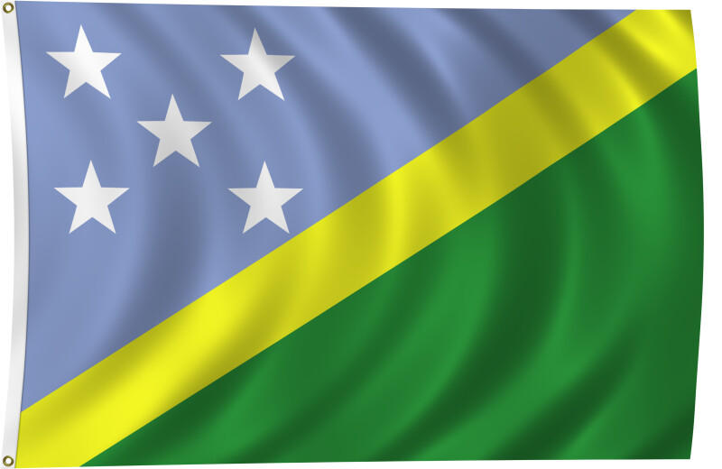 Flag of Solomon Islands, 2011