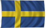 Flag of Sweden, 2011